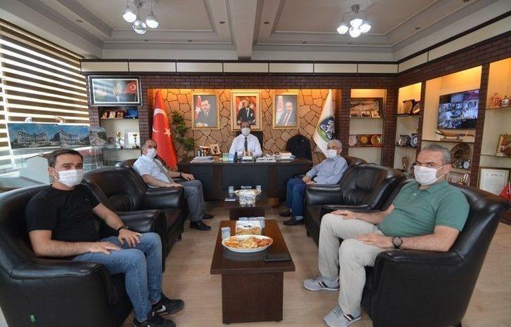 Eskişehir Tapu Bölge Müdürü Kılıç'tan Başkan Çöl'e ziyaret