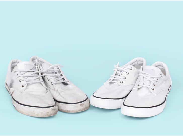 Bez ayakkabın mı var derdin var: Bez ayakkabı temizliğinin püf noktaları