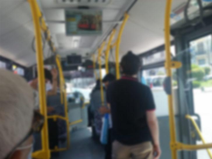 İstanbul'da otobüste maske tartışması