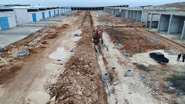 Küçük Sanayi Sitelerinin alt yapısını tamamlandı