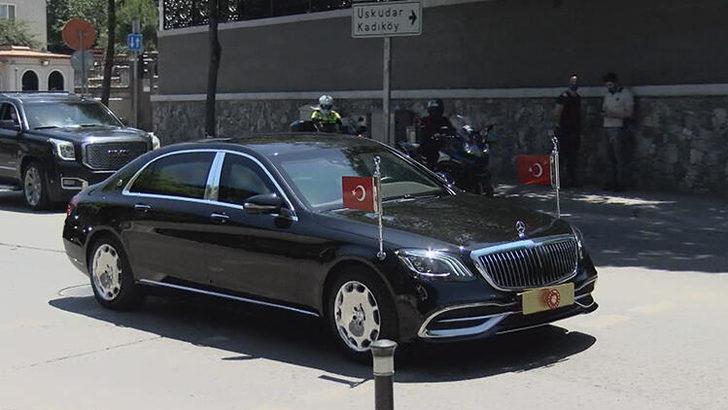 Cumhurbaşkanı Erdoğan, yeni doğan torununu ziyaret etti