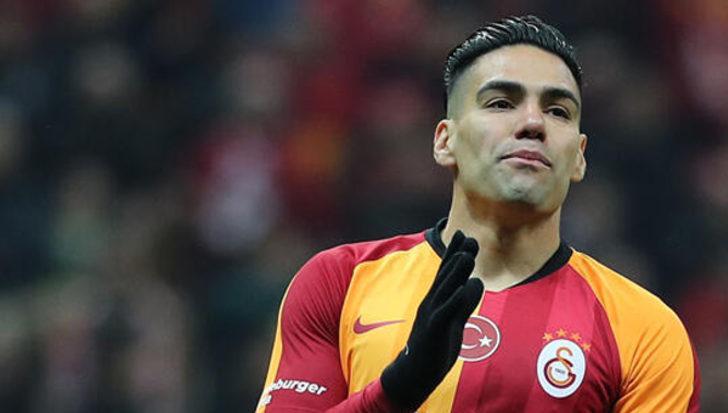 Galatasaray'da Falcao, Trabzonspor maçında yok!