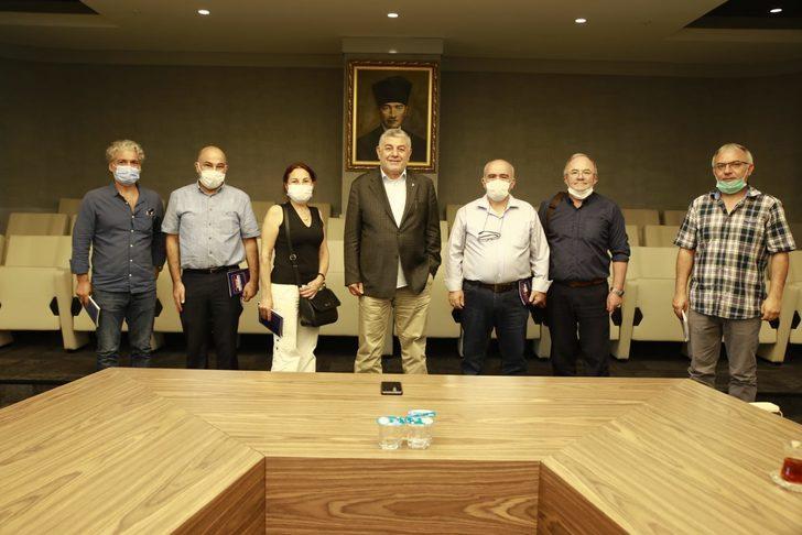 Gümüşhane Dayanışma Platformu'ndan Sarıyer Belediye Başkanı'na taziye ziyareti