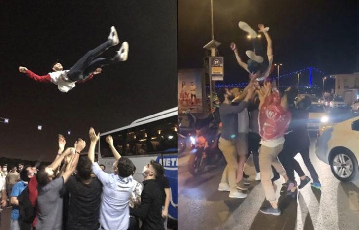 Bakan Koca da açıklama yapmıştı! İstanbul'da dehşete düşüren asker uğurlama görüntüleri
