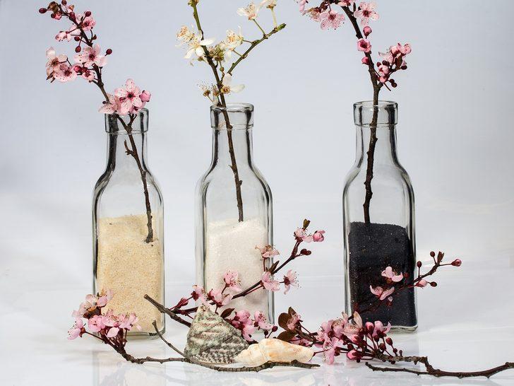 Bu dekoratif ürünleri evde kolaylıkla yapabilirsiniz! Şişe ve yumurtayla...