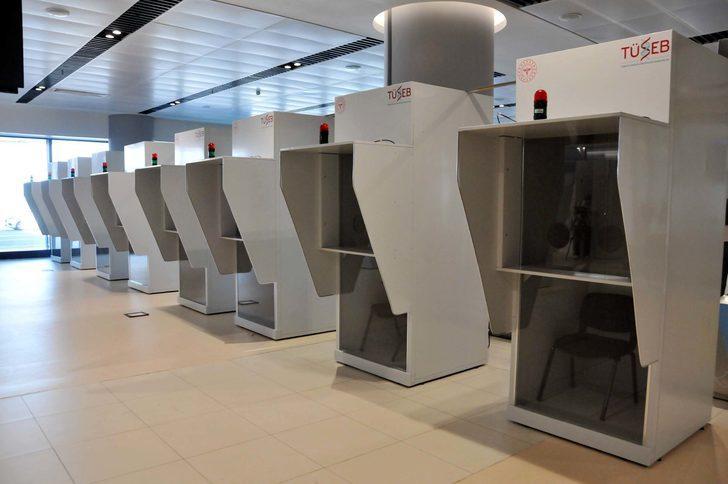 İstanbul Havalimanı'nda koronavirüs test merkezi kuruldu