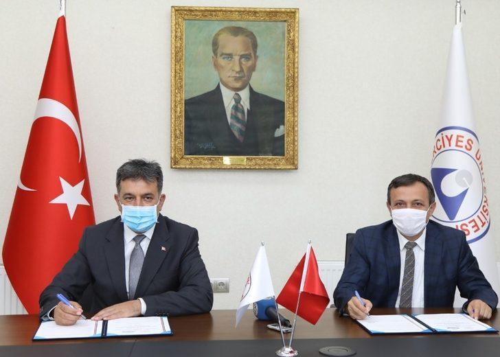 """ERÜ ile Gençlik ve Spor İl Müdürlüğü Arasında """"İşbirliği Protokolü"""" İmzalandı"""