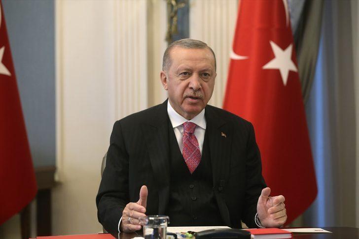 Cumhurbaşkanı Erdoğan, İspanya Başbakanı Sanchez ile video konferans yoluyla görüştü