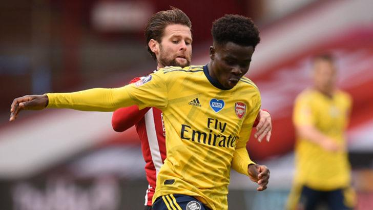 Arsenal'de Bukayo Saka'nın sözleşmesi uzatıldı