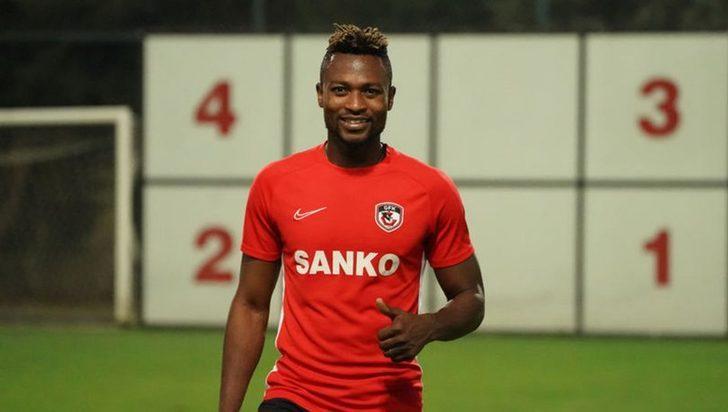 Gaziantep FK, Twumasi'nin izinsiz olarak takımdan ayrıldığını açıkladı