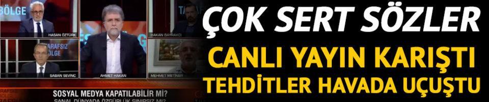 CNN Türk'te tansiyon yükseldi! Sosyal medya tartışması