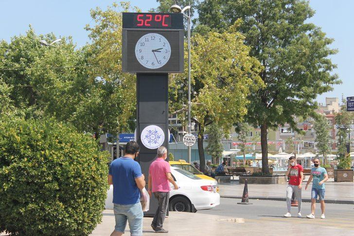 Aydın'da termometreyi görenler inanamadı! Bunaltan sıcaklık