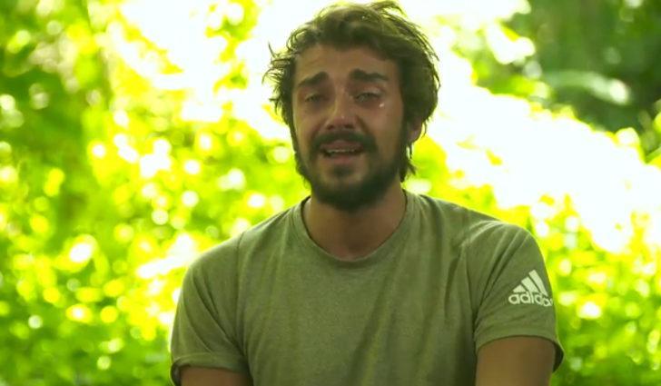 Survivor'da Nisa Bölükbaşı'nın elenmesinin ardından Cemal Can gözyaşlarına boğuldu: Böyle bitmemeliydi