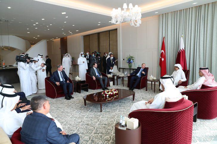 Bakan Albayrak: Katar ziyaretinde verimli görüşmeler gerçekleştirdik