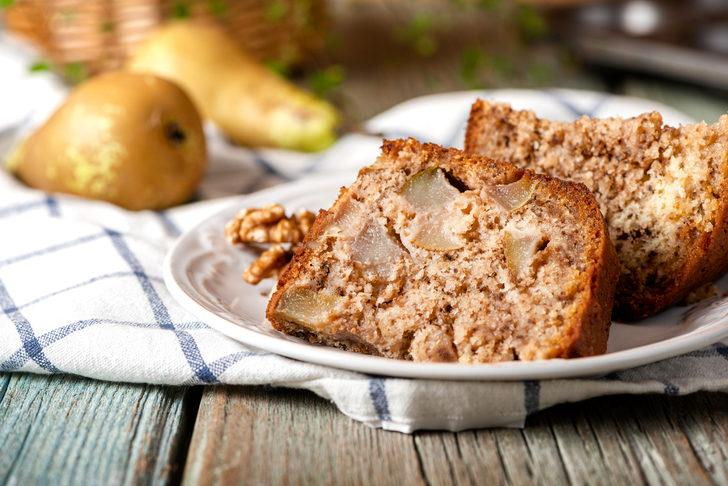 C vitamini deposu: Armutlu kek tarifi