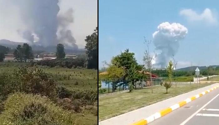 Son dakika! Sakarya'da havai fişek fabrikasında patlama! Flaş açıklama: İçeride 150-200 işçi vardı thumbnail