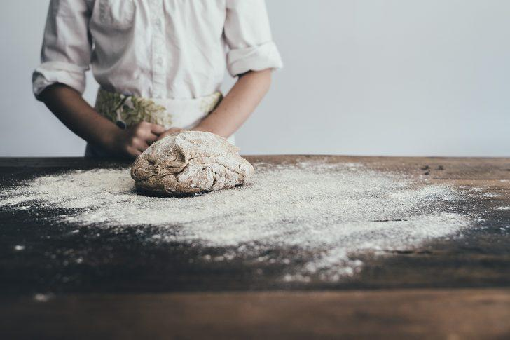 Doya doya yiyin diye: Ay çöreği yapılışı