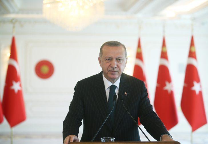 Cumhurbaşkanı Erdoğan: Salgında iki sektörün önemi ortaya çıktı