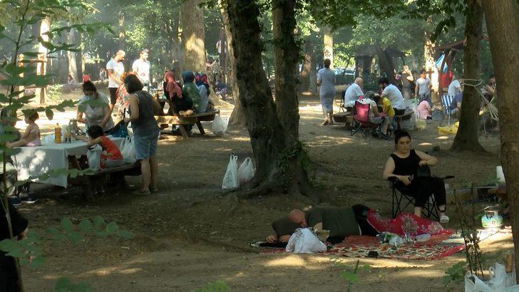 İstanbullular haftasonu piknik alanlarına ve plajlara akın etti