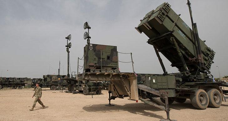 ABD'den Irak'ta Patriot testi! Şarapneller ev ve araçlara isabet etti