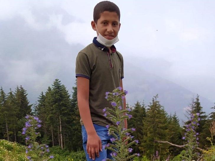 Rize'de ormanlık alanda kaybolan çocuk bulundu