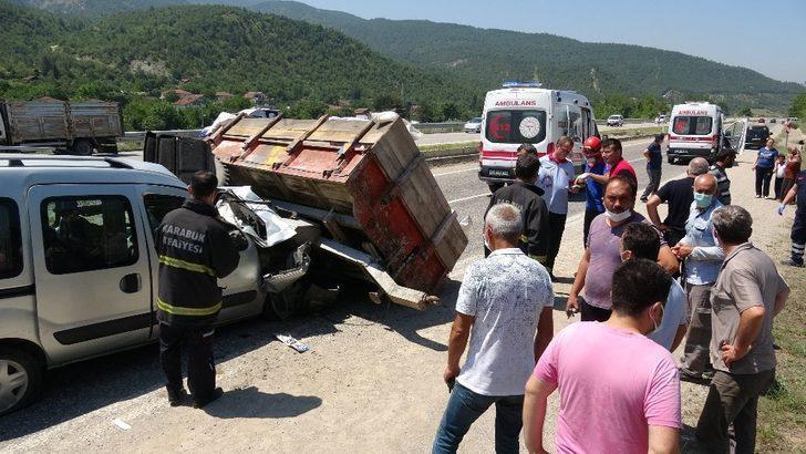 Kaza yaptı 'daldım abi' dediği sürücüden özür diledi