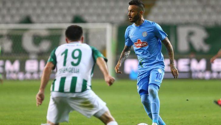 Konyaspor 1-0 Çaykur Rizespor (Maç Sonucu)