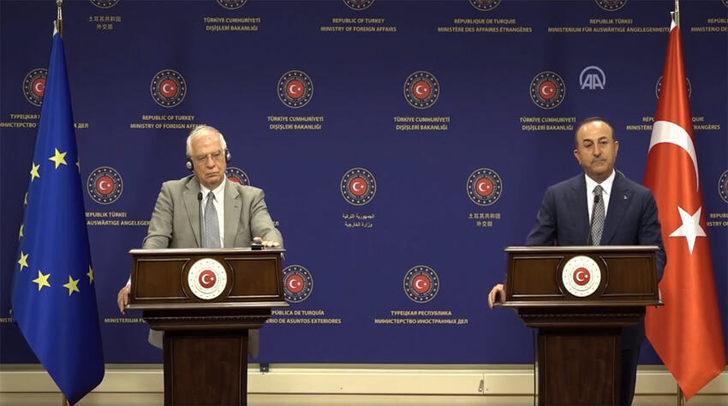 Son dakika: Bakan Çavuşoğlu'ndan AB'ye tepki: Karşılığını vermek zorunda kalacağız
