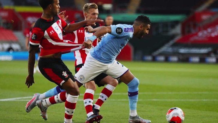 Southampton-Manchester City maçında rekor kırıldı