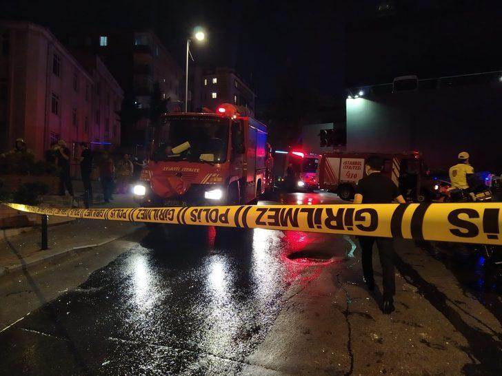 Mecidiyeköy'de tamir atölyesinde patlama: 1 yaralı!