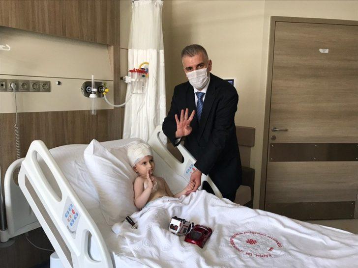 Cumhurbaşkanı Erdoğan'ın hastane açılışında sohbet ettiği çocuğun babası: Hayali gerçekleşti