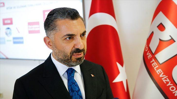 RTÜK Başkanı Ebubekir Şahin'den, kurul üyesi İlhan Taşçı'nın yorumlarına yanıt