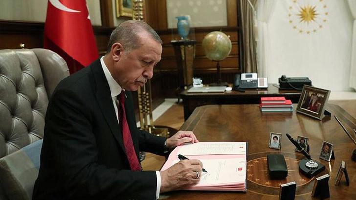 Cumhurbaşkanı Recep Tayyip Erdoğan'ın imzasıyla yayımlandı! Flaş atama kararı