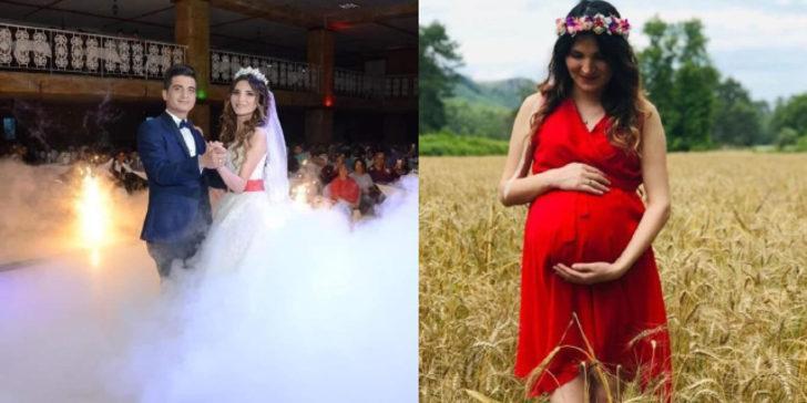 Genç kadın doğumdan sonra hayatını kaybetti! Polis eşi gözyaşlarına boğuldu