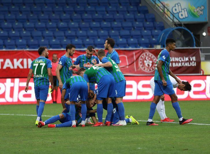 ÖZET   Çaykur Rizespor - Kayserispor maç sonucu: 3-2