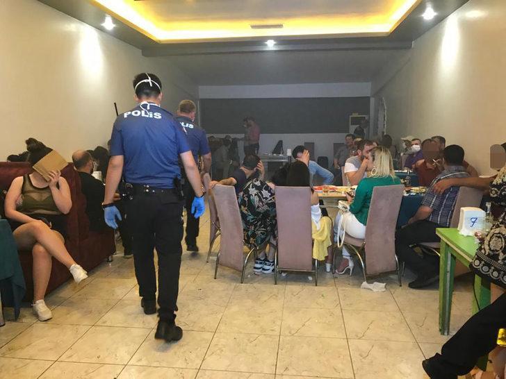 Konya'da eğlence merkezine koronavirüs baskını