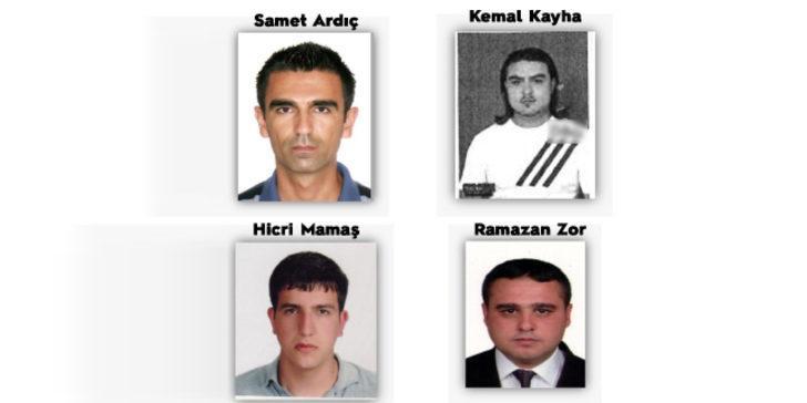Emniyet Genel Müdürlüğü açıkladı! Kırmızı bültenle aranan 4 şahıs iade edildi