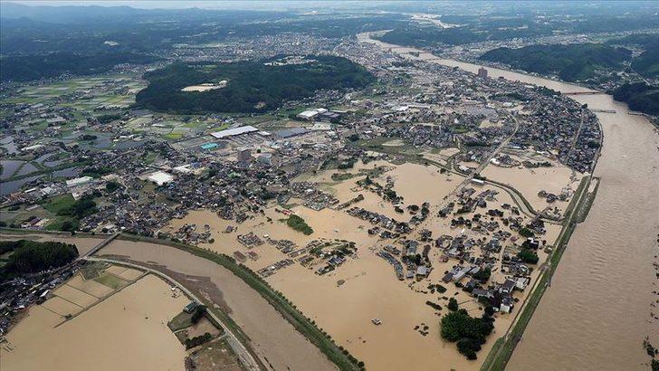 Japonya'nın güneybatısındaki sel ve heyelanlarda ölenlerin sayısı 63'e yükseldi