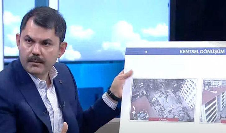 Bakan Kurum canlı yayında açıkladı: Bugün temelleri atacağız