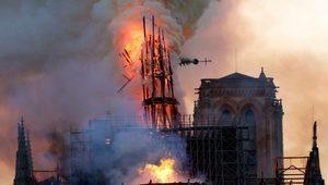 Notre-Dame Katedrali'nin yangında yıkılan çan kulesinin orijinal şekli korunacak