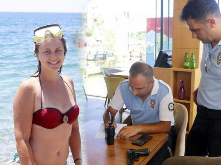 Yer: Antalya! Denizde yüzerken silah buldu
