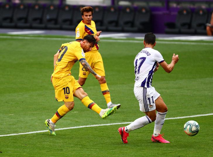 ÖZET   Real Valladolid 0-1 Barcelona maç özeti