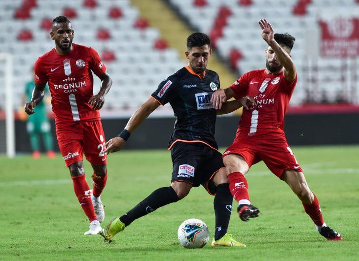 ÖZET   Fraport TAV Antalyaspor - Aytemiz Alanyaspor: 1-0