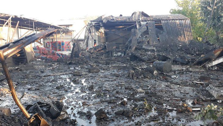 Zonguldak'ta salyangoz fabrikasında buhar kazanı patladı