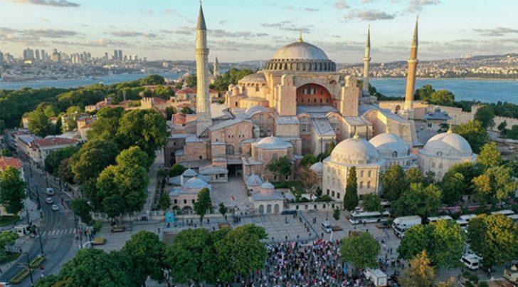 Rusya'dan Ayasofya açıklaması: Türkiye'nin içişleri