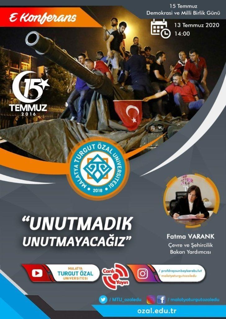 MTÜ'den 15 Temmuz Konferansı ve Fotoğraf Sergisi
