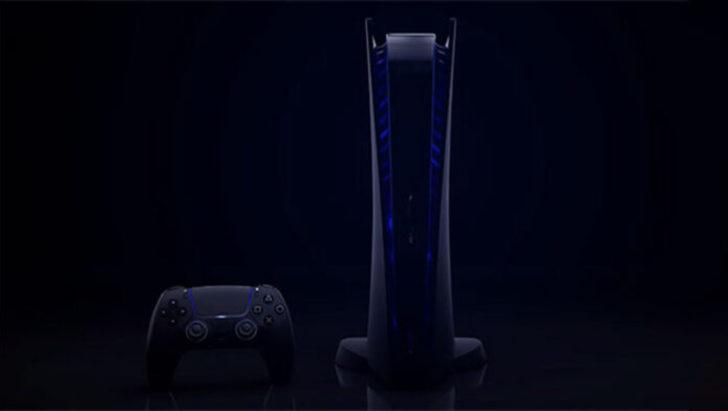 Sony, yanlışlıkla PS5'in siyah rengini sızdırdı