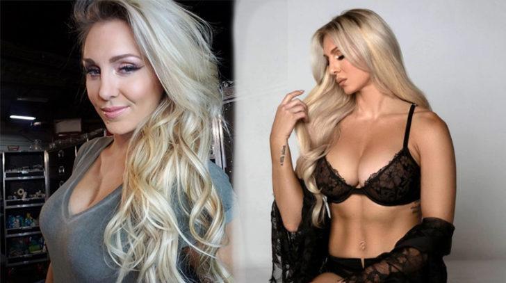 WWE güreşcisi Charlotte Flair'in slikonları patladı