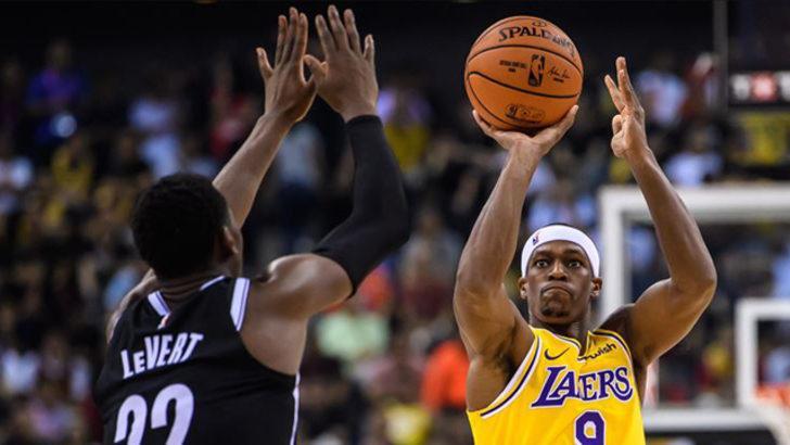 Los Angeles Lakers'ta Rajon Rondo sakatlandı