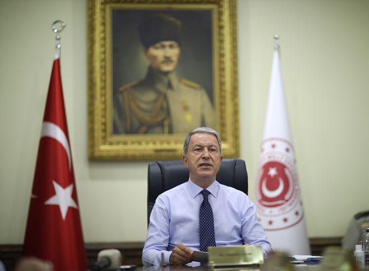 Bakan Akar: Azeri kardeşlerimize desteğe devam edeceğiz